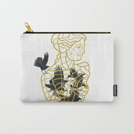 Venus Cage inspired by the Venus of Milo Sculpture Carry-All Pouch