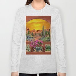 Sonoran Desert Landscape Long Sleeve T-shirt