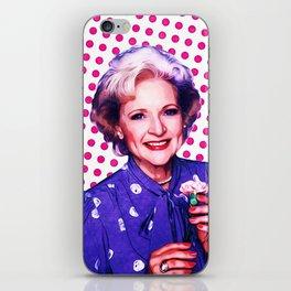 Betty White - Pop Art iPhone Skin