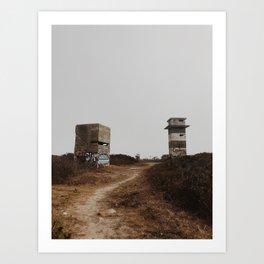 Abandoned Bunker Art Print