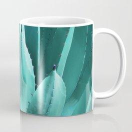 Aloe Vera Close Coffee Mug