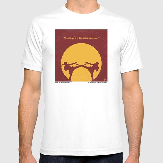 No178 My Kickboxer minimal movie poster T-shirt
