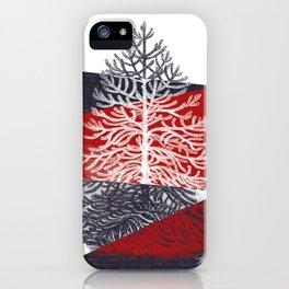 Tree Silhouette II iPhone Case