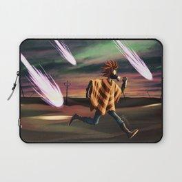 Air Raid in the Battlefield Laptop Sleeve