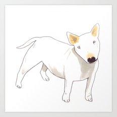Bull Terrier Art Print