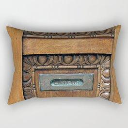 Letter Slot  Rectangular Pillow