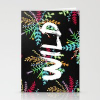into the wild Stationery Cards featuring Wild by Camila Escat