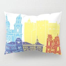 Salzburg skyline pop Pillow Sham