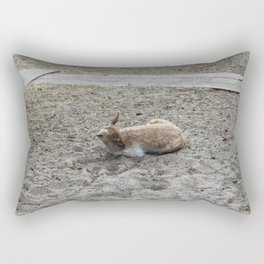 Deer In A Pasture Rectangular Pillow