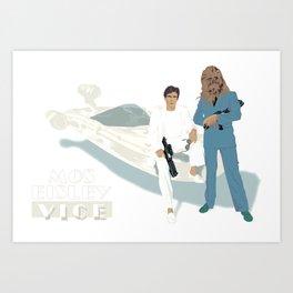 Mos Eisley Vice Art Print