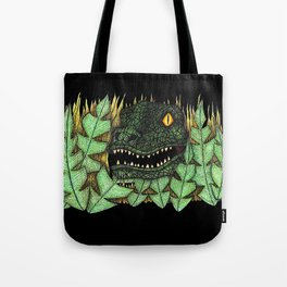 Don't go into the long grass! Tote Bag