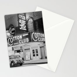 African American Harlem Renaissance Cotton Club Jazz Age Photograph Stationery Cards