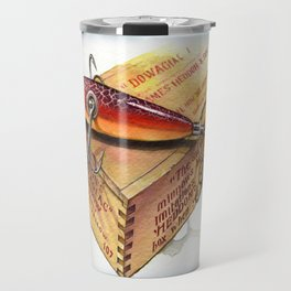 heddon 100 rainbow cup rig 1908 Travel Mug