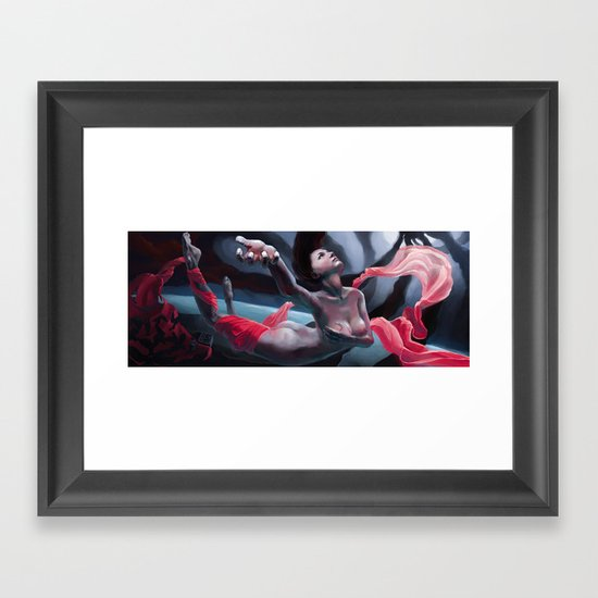 Stolen Voice Framed Art Print