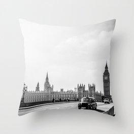 Parliament Walk Throw Pillow