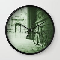 jewish Wall Clocks featuring Break Time by Brown Eyed Lady