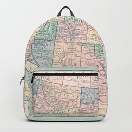 United States Map Backpack