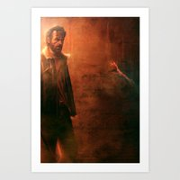 the walking dead Art Prints featuring Walking Dead by Varsha Vijayan