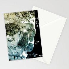 skull birds 02 Stationery Cards