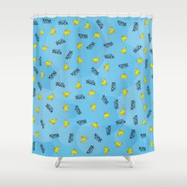 WHAT THE DUCK Shower Curtain