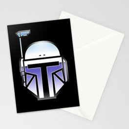 Mandalorian in disguise Stationery Cards