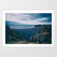 Iceland Rocky Coast Art Print