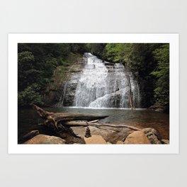 Hidden Waterfalls Art Print