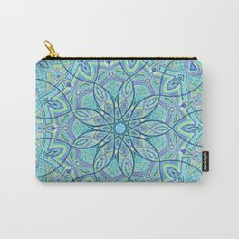Heart of the Forest - Mandala Design Carry-All Pouch