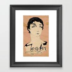 Tender is the Night Framed Art Print