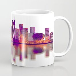 Port Louis Mauritius Skyline Coffee Mug