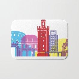 Brescia skyline pop Bath Mat