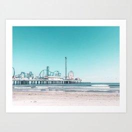 Boardwalk Series - Pleasure Pier, Galveston, TX - Photograph (2 of 2) Art Print