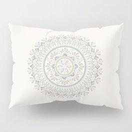 Jardin Mandala - Turquoise Pillow Sham