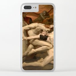 Dante and Virgil in Hell Clear iPhone Case