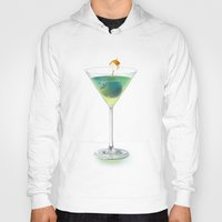 cocktail Hoodies featuring Cocktail by Etienne Chaize