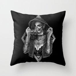 Winya No. 108 Throw Pillow