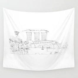 Singapore Wall Tapestry