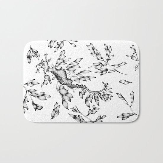 Camouflaged - the Sea Dragon Bath Mat
