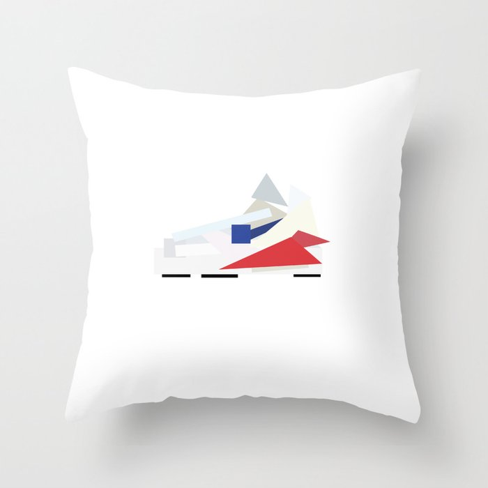 NIKE PAPERCUT Throw Pillow