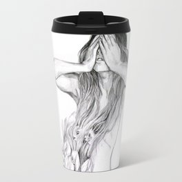 Rabbit Ghost Travel Mug