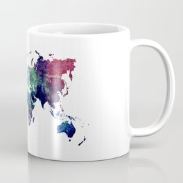 Map of the World After Ice Age Coffee Mug