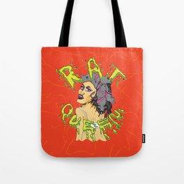 Rat Queen Tote Bag