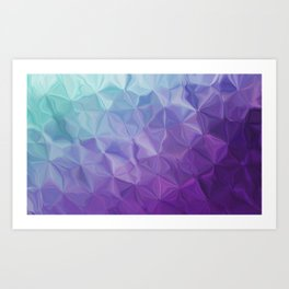 Abstract painting color texture Art Print