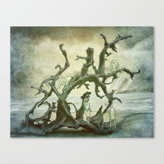 Spirits of the Driftwood Canvas Print