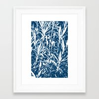 plant Framed Art Prints featuring Plant by H. Burak Yel