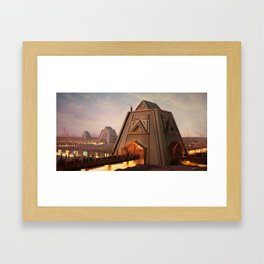 Gridlock Framed Art Print