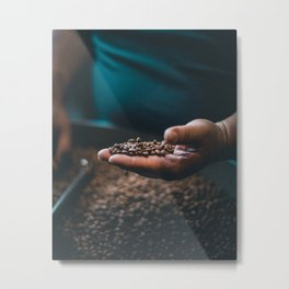 Roasted Coffee 3 Metal Print