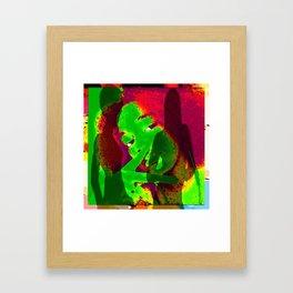 Cabsink17DesinerPatternMIMI Framed Art Print