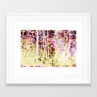 scuba Framed Art Prints featuring scuba by WILDTROPHYCHILD