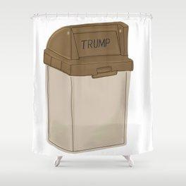 Dump Trump Shower Curtain